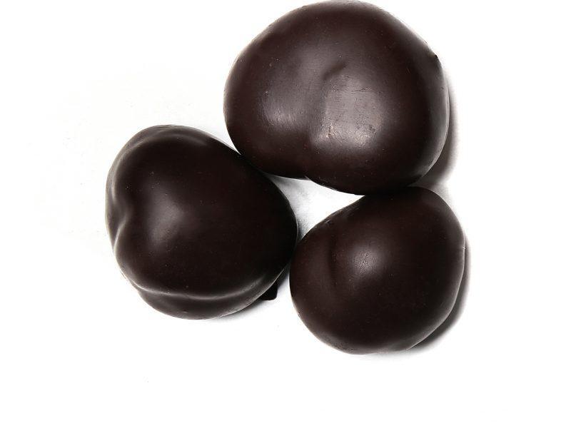 Ολόκληρο κάστανο βουτηχτό σε σοκολάτα υγείας