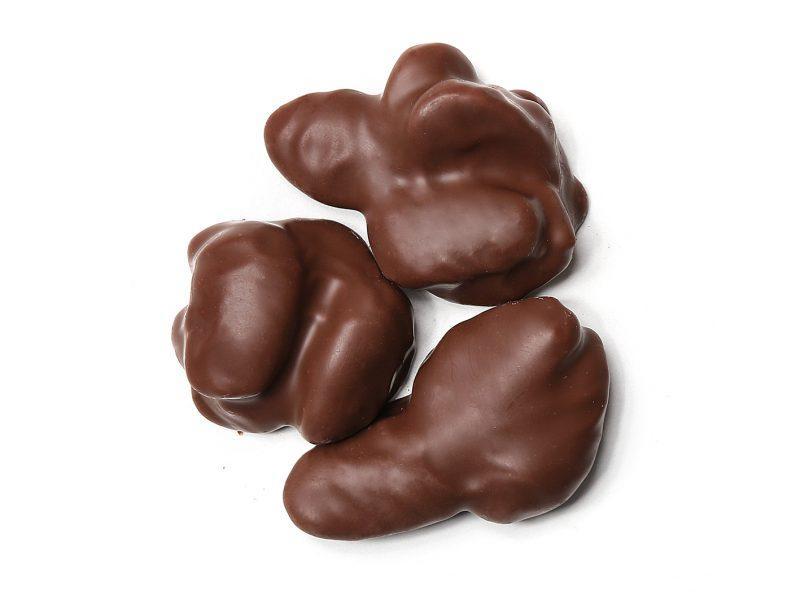 Βραχάκια αμυγδάλου με σοκολάτα γάλακτος