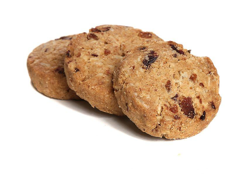 Μπισκότα Cranberries χωρίς προσθήκη ζάχαρης